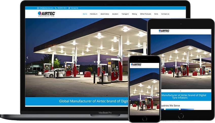 Web Design Portfolio Airtec