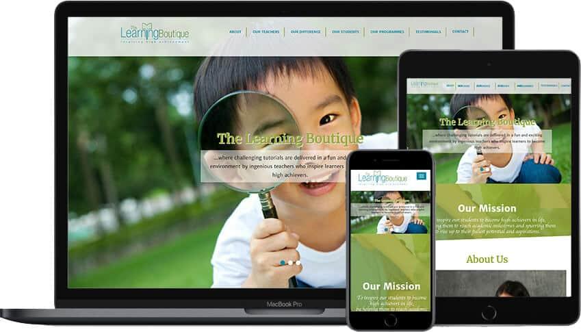 Web Design Portfolio TLB